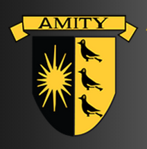Amity coat of arms