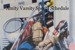 amity sports schedule