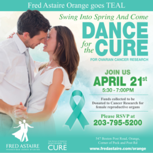 Dance For The Cure Fundraiser @ Fred Astaire Dance Studio | Orange | Connecticut | United States