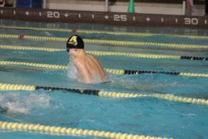 Boys Swimming: Glastonbury Splashes Past Amity On Feb. 15