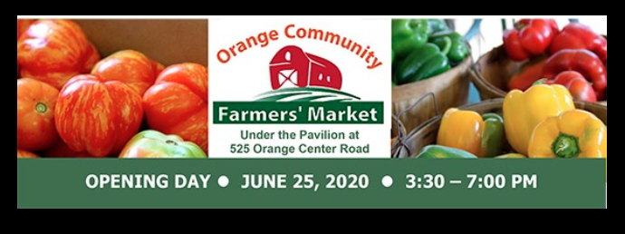 Orange Community Farmer's Market @ Orange Fairgrounds Under the Pavilion