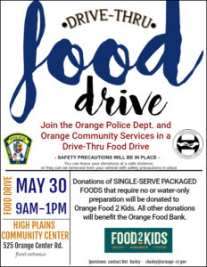 Drive Thru Food Drive @ High Plains Community Center